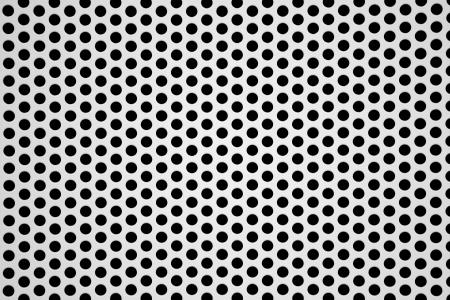 perforated aluminum sheet metallic background Stock Photo - 17622996