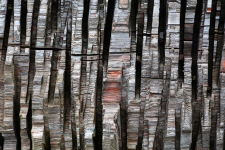 vertical strips of chopped wood as a background - pattern