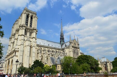 notre dame: Notre dame Stock Photo