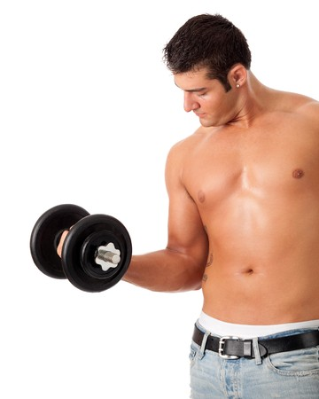 Lifting Weights Stock Photo - 7586545