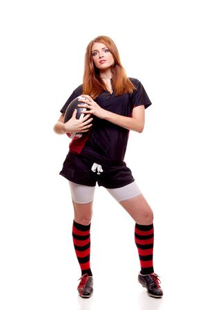 Women's Rugby Stock Photo - 7586372
