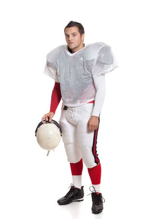 American football player. photo