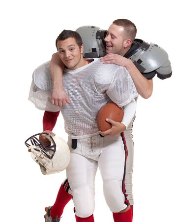 American football players. Stock Photo - 8024379