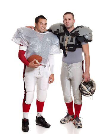 American football players. Reklamní fotografie