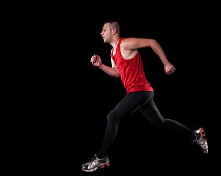 sprinting: Runner