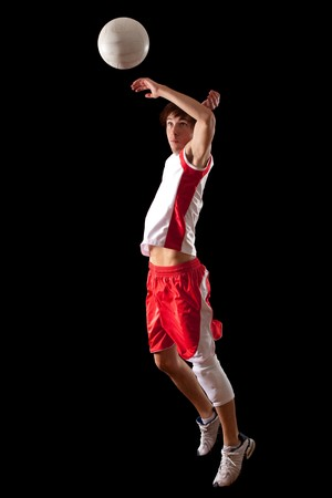 Volleyball Player Stock Photo