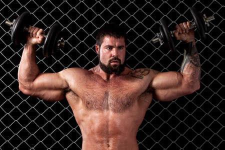 Bodybuilder Stock Photo - 8223304