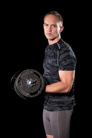 lifting weights: Levantamiento de pesas