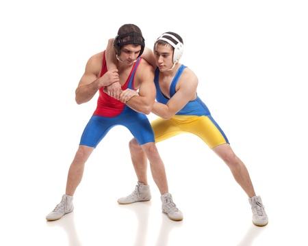 Wrestlers photo