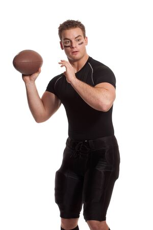 throwing: Football Player