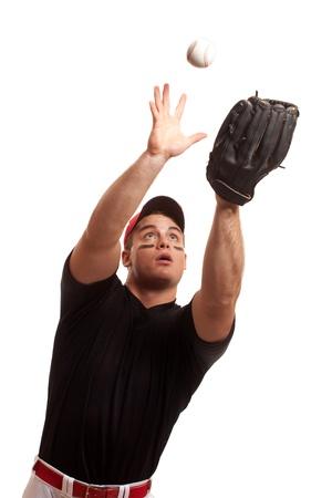 guante de beisbol: Jugador de b�isbol.