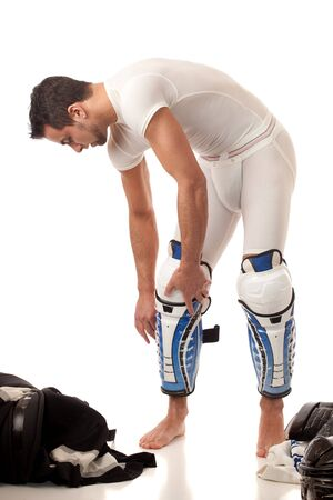 equipment: Ice Hockey Player