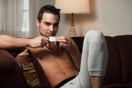 Man Relaxing photo