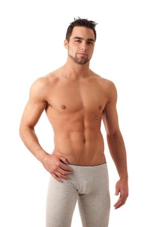 intimo donna: Uomo in biancheria intima lunga