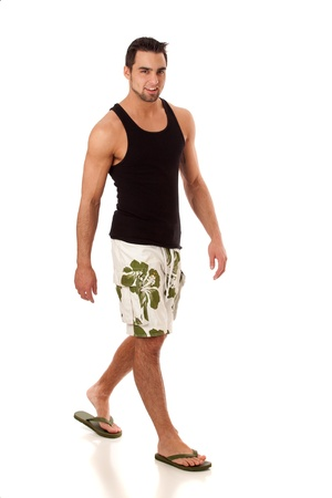 Man in Swimwear Stock Photo - 8829498
