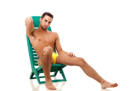 Man in Swimwear Stock Photo - 8829501