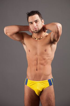 Man in Swimwear photo