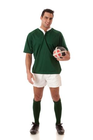 Rugby Player Reklamní fotografie