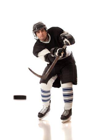 Hockey Player Stock Photo - 8829853