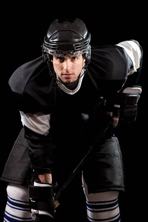 Hockey Player Stock Photo - 8830419