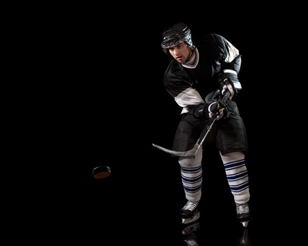 Hockey Player Stock Photo - 8830000