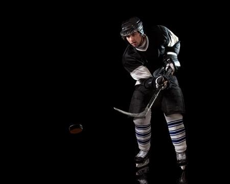 hockey stick: Hockey Player