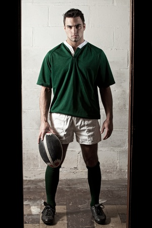Rugby Player Banco de Imagens