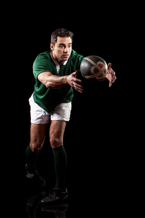 Rugby Player 写真素材