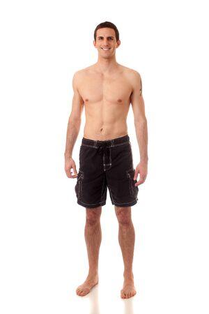Hombre en trajes de baño Foto de archivo - 8947107