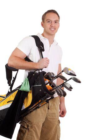 Golfer photo