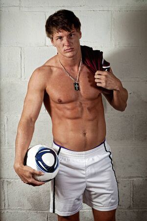 eye ball: Soccer Player
