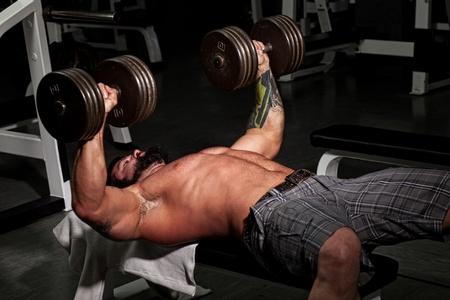 gym room: Bodybuilder