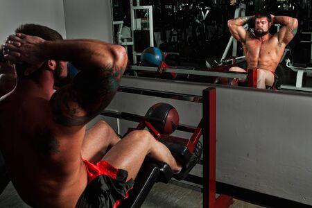 Bodybuilder photo
