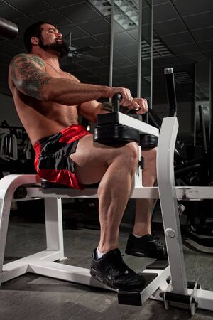 calves: Bodybuilder