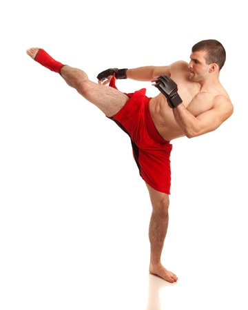 martial artist: MMA Fighter