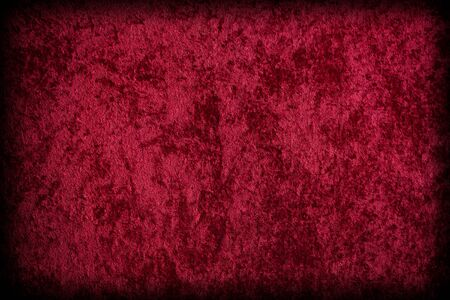 fabric texture: Red Velvet-like Fabric