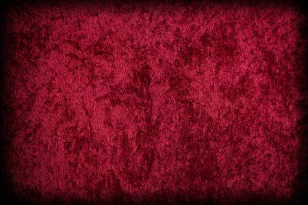velvet texture: Tessuto simile velluto rosso