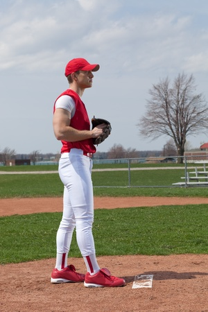 baseball cap: Baseball Player