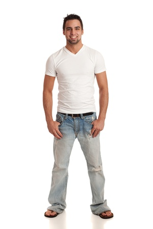 Casual Young Man Stockfoto