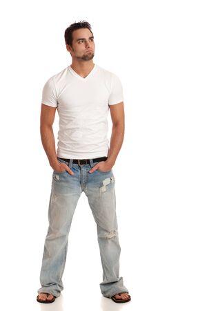 Casual Young Man Stock fotó