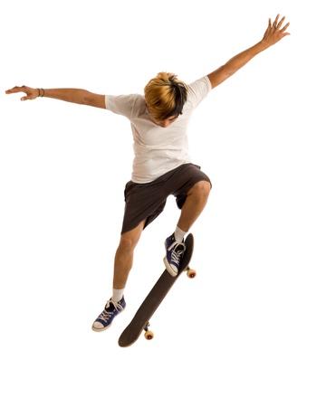Skateboarder Reklamní fotografie - 10764372