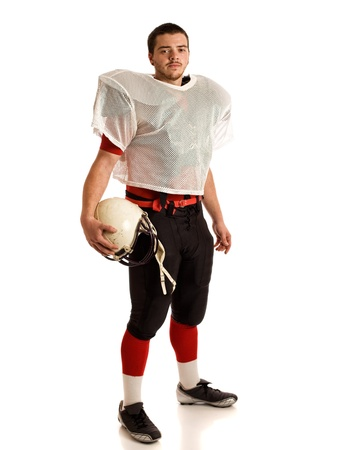 jugador de futbol americano: Futbolista