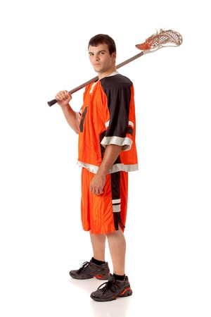 lacrosse: Lacrosse Player