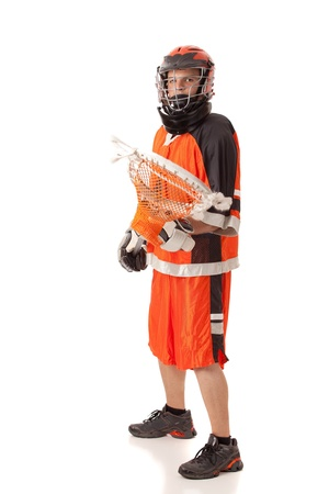 lax: Lacrosse Player