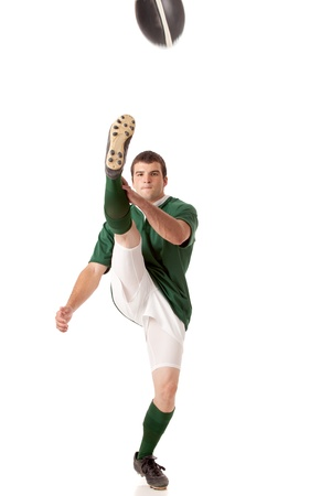 rugby player: Rugby Player Stock Photo