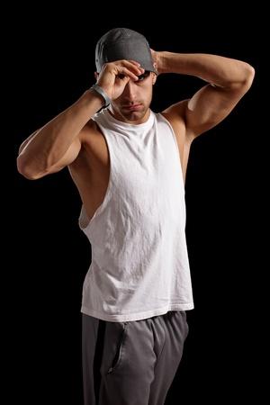 Muscular Man 版權商用圖片
