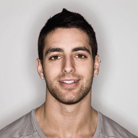 Young Man Headshot Stock Photo