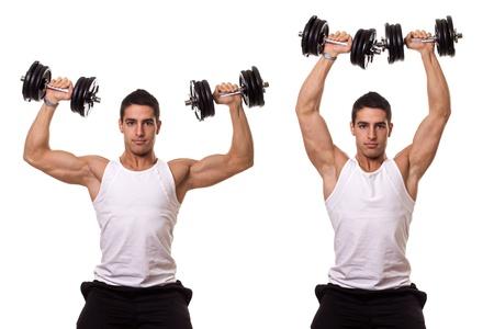 hombros: Prensa de hombros