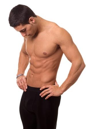 flex: Athletic Man Shirtless