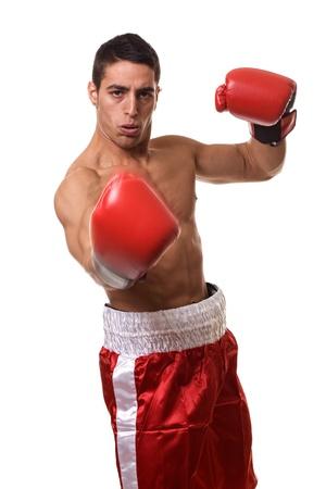 boxeadora: Boxeador